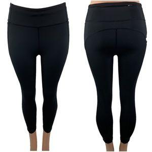 NEW Luluemon solid black 7/8 tights